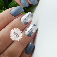 Want some ideas for wedding nail polish designs? This article is a collection of our favorite nail polish designs for your special day. Stylish Nails, Trendy Nails, Cute Nails, My Nails, Smart Nails, New Nail Designs, Colorful Nail Designs, Latest Nail Art, New Nail Art