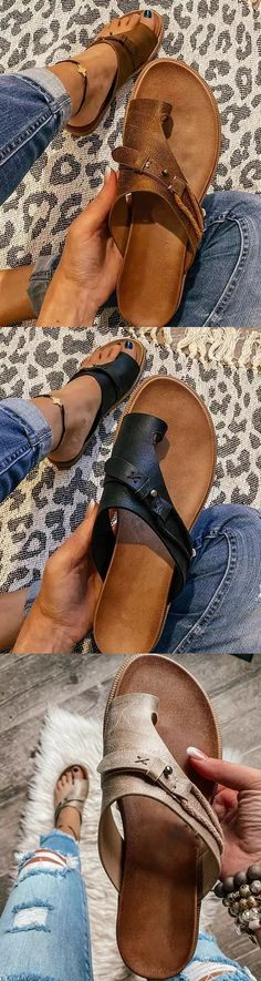 Cute Casual Outfits, Chic Outfits, Cute Shoes, Me Too Shoes, Mode Hippie, Summer Slippers, Leopard Flats, Shoe Game, Shoe Boots