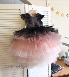 Baby Girl Frocks, Baby Girl Party Dresses, Cute Girl Dresses, Kids Frocks, Frocks For Girls, Wedding Dresses For Girls, Little Girl Dresses, Flower Girl Dresses, Kids Dress Wear
