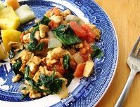 Curried Tofu Scramble with Spinach   Selvera-approved protein & fiber-filled meal! (selvera.com)