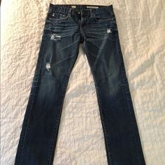AG Women's EX- Boyfriend slouchy slim piper jeans Gently used. Run big!                                       See Amazon link for more information: http://www.amazon.com/AG-Adriano-Goldschmied-Ex-Boyfriend-Slouchy/dp/B00S664E9S/ref=pd_d0_recs_v2_cwb_ap_3?ie=UTF8&dpID=41JF2q33jdL&dpSrc=sims&preST=_SL500_SR123%2C160_&refRID=1DAPP7BC88NFEFAXATC2 AG Adriano Goldschmied Jeans Boot Cut