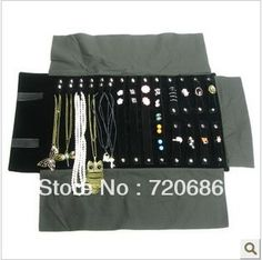 Portable Travel Jewelry Organizer Display Cases Roll Of Multi Item Pouches Accessories Storage Incases Displays From