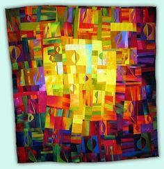 Melody Johnson: Art Quilts - Galleries - Botanicals
