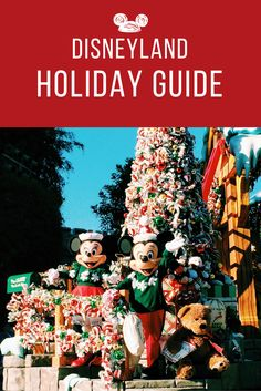 There's a lot to do at Disneyland during the holidays! Here's a guide.