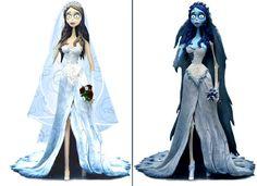 Resultado de imagen de la novia cadaver vestido