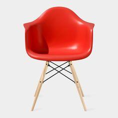 イームズシェルアームチェア DAW レッド | 商品詳細ページ | インテリア家具・雑貨の通販MoMA STORE