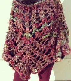 Poncho crochet!