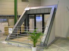 Gaubentechnik with system – SPS.Gauben :: WohnFühlLoggia - All About Balcony Attic Renovation, Attic Remodel, Loft Room, Bedroom Loft, Attic Rooms, Attic Spaces, Loft Design, House Design, Dormer Loft Conversion