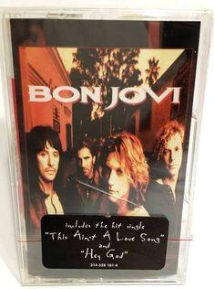 Bon Jovi THESE DAYS Cassette Tape (NEW/SEALED) -  RARE! #HardRock