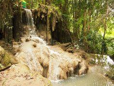Kanchanaburi, Thailand. #Thailand #Kanchanaburi #waterfall
