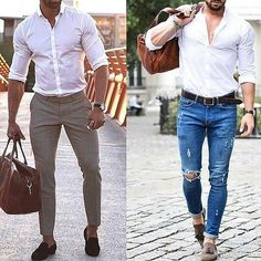 Left or Right? via @gentwithstreetstyle #gentwithcasualstyle #menwithcasualstyle #GentWith