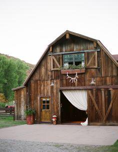 Wedding barn  Photographer: Aaron Delesie  Event Designers: Lisa Vorce and Mindy Rice