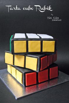 Tía Alia Recetas: Tarta cubo de Rubik
