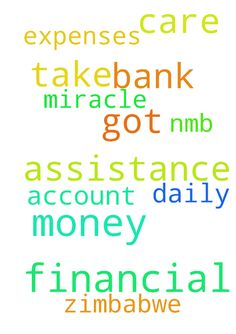 I need financial assistance got no money to take care - I need financial assistance got no money to take care of daily expenses need a miracle in this bank account 280077798 nmb bank Zimbabwe  Posted at: https://prayerrequest.com/t/mhP #pray #prayer #request #prayerrequest