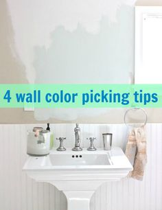 4 things to consider when choosing a wall color for your home: use these tips and tricks to create a personalized color palette with just a fresh coat of paint.