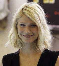 gwyneth paltrow hair blunt bob