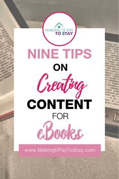 EBooks are still a great idea for creating side hustle income. These tips can help you create your first eBook without breaking a sweat. Take Money, Way To Make Money, Marketing Program, Affiliate Marketing, Marketing Plan, Content Marketing, Writing A Book, Writing Tips, Writing Skills