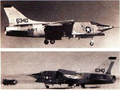 VOUGHT-XF8U-3-CRUSADER-III (1958) - lost competition to F-4 Phantom II