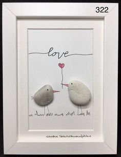 Sea Glass Crafts, Sea Glass Art, Seashell Crafts, Beach Crafts, Stone Pictures Pebble Art, Stone Art, Stone Crafts, Rock Crafts, Caillou Roche