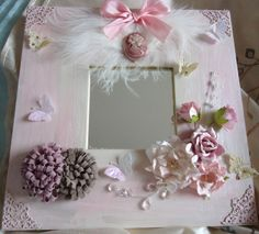shabby chic crafts to make | THE ARTFUL CODGER: My Shabby Chic Mirror to complete the pair