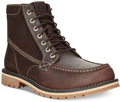 $150, Timberland Grantly Boots. Sold by Macy's. Click for more info: https://lookastic.com/men/shop_items/342792/redirect