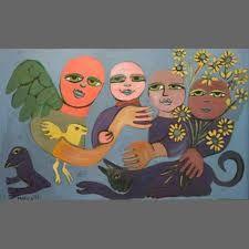 mirka mora angels - Google Search Contemporary Decorative Art, Clay Faces, Naive Art, Outsider Art, Art Images, Flower Art, Folk Art, Whimsical, Misfits
