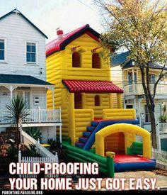 crazy parenting fails - Fun House