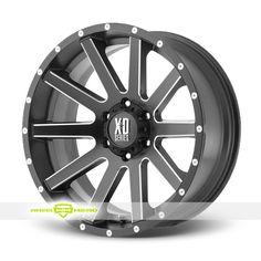 XD Series XD818 Heist Black Milled Wheels For Sale & XD Series XD818 Heist Rims And Tires