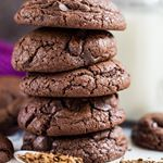 Dont miss my deliciously thick and chewy Chocolate Chip Mocha Cookies on the blog nowGrab the recipe link in my profile or here  httpmarshasbakingaddictioncomchocolatechipmochacookies