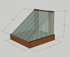 Hvordan lage minidrivhus selv - Byggmakker.no Cottage, Cabin, Projects, Garden Ideas, Gardening, Home Decor, Log Projects, Blue Prints, Decoration Home