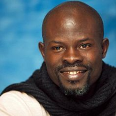 One of the most handsome individuals, Djimon Hounsou, is also a very powerful actor.