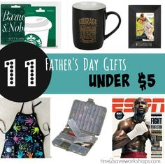 Father's Day Gifts from Kids under $5