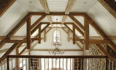 The Hudson Company reclaimed hand hewn wooden beams