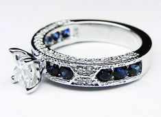Vintage Engagement Ring - Marriage Stuff