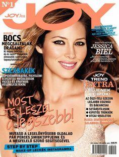 Joy Magazine [Hungary] (October 2013) Jessica Biel