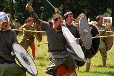 Saxons vs Vikings by Sandman1973, via Flickr