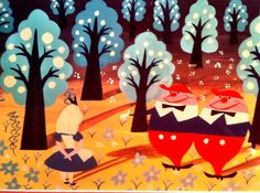 Mary Blair had the best eye for color! I could decorate a house with any of her concept art palettes.