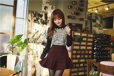 All Korean Fashion items up to 70%OFF! #miniskirt #frillhemminiskirt #tweedminiskirt