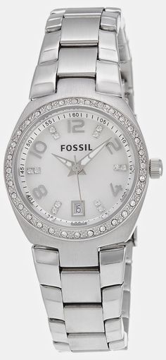 Fossil Dress Analog Silver Dial Women's Watch