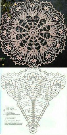 Crochet Table Runner Pattern, Free Crochet Doily Patterns, Crochet Bunny Pattern, Crochet Art, Thread Crochet, Crochet Designs, Crochet Crafts, Crochet Projects, Crochet Tablecloth