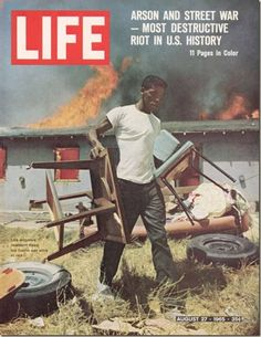 Life Magazine from 1936 to Original Vintage Issues. Over Life Magazine issues in stock. Life Magazines make great gifts for that special person in your Life. Life Magazine, History Magazine, Magazine Rack, Watts Los Angeles, Black Art, Watts Riots, Life Cover, E Sport, African Diaspora