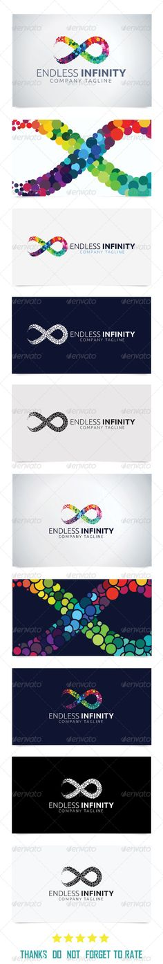 Infinity Logo — Vector EPS #infinity #communication • Available here → https://graphicriver.net/item/-infinity-logo-/6132709?ref=pxcr
