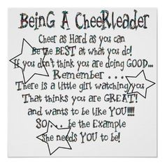 cheerleading is a sport! i-m-a-cheerleader-from-bow-to-toe Cheerleading Quotes, Cheer Quotes, Cheerleading Gifts, Cheer Gifts, Cheer Bows, Cheer Sayings, Cheer Treats, Football Cheerleading, Cheerleader Gift