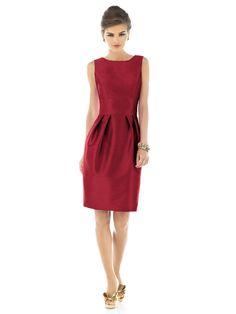 Tulip Skirt  Raw Silk