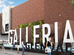 O escritório RSM Design desenvolveu uma marca completa e um programa de orientação e sinalização para a Glendale Galleria (Glendale, Estados Unidos), destinação de comércio de moda popular. A renov…