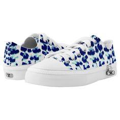Blue Green Lupin Sneakers