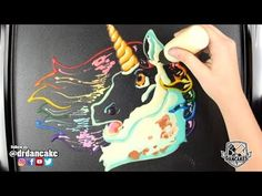 Sit back and relax this Sunday morning and enjoy Relaxing Unicorn Pancake Art. This pancake was made by our Dancakes Artist Dana . Art Videos For Kids, Drawing Lessons For Kids, Art For Kids, Pancake Art Challenge, Pancake Drawing, Unicorn Wings, Art Style Challenge, Wings Drawing, Unicorn Drawing