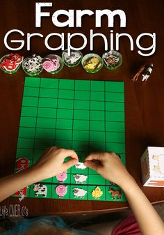 Farm Animal Graphing (free printable; from Life Over C's)