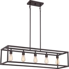 New Harbor Western Bronze Island 5-light Chandelier Overstock.com $494 For kitchen