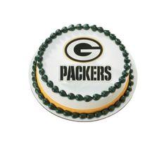 Green Bay Packers Cake Decorating Kit